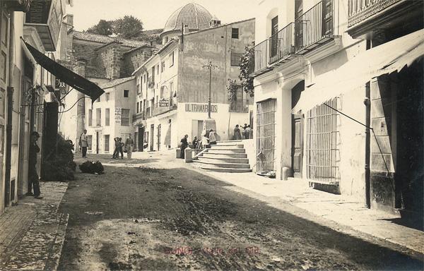 Plaza del Pueblo Buñol 1912