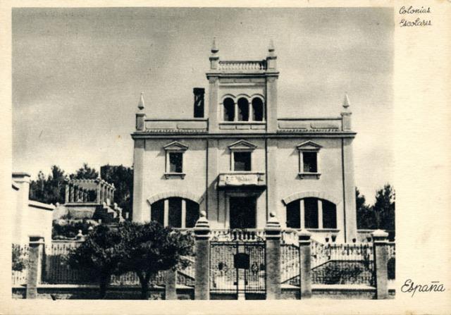 Chalet de la colonia 1939
