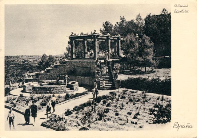 Jardín de chalet 1938