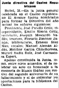 Casino Republicano 1930