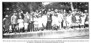 Colonias escolares Mundo Grafico 1912