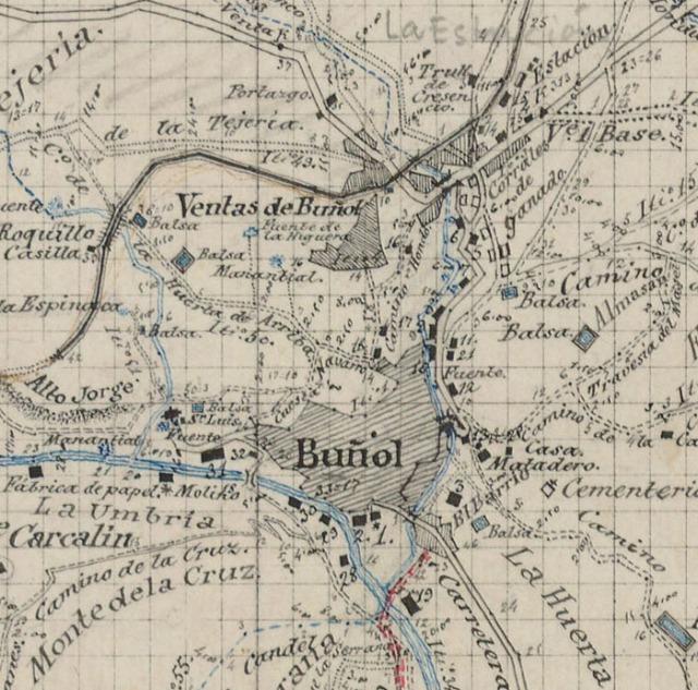 Plano de Buñol 1885