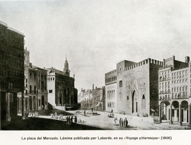 Plaza del mercado 1806