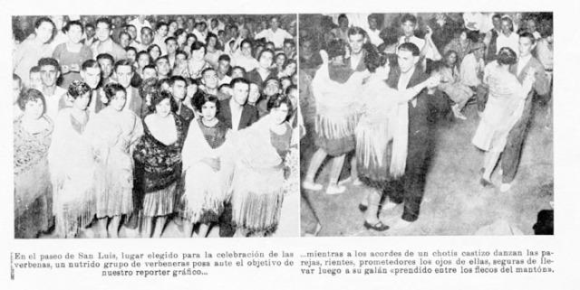 Verbena en las Fiestas y ferias de buñol de 1928 Buñol