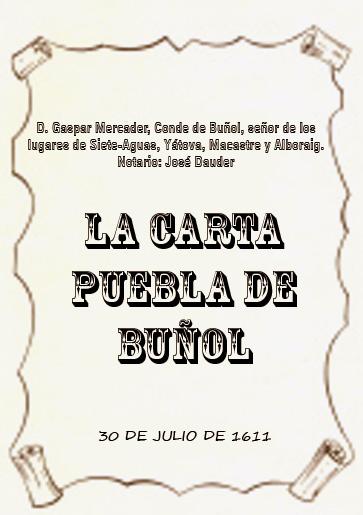 Carta Puebla 1611