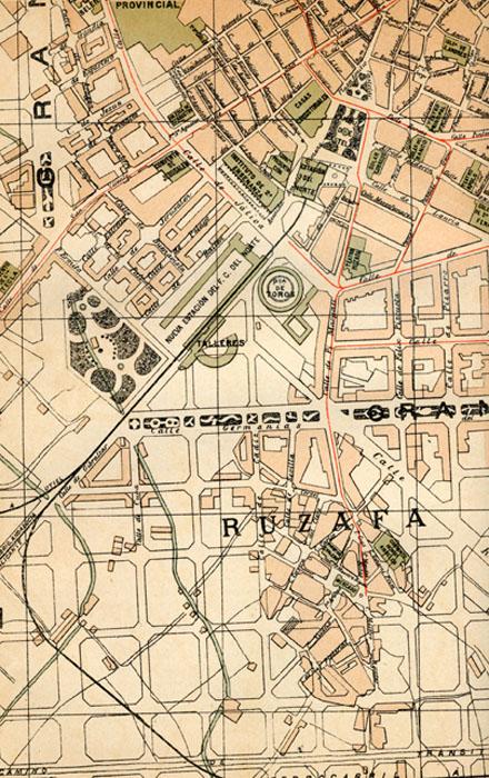plano de Valencia 1914